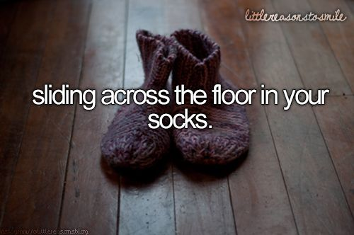 i do that all the time but then i try to runand then i slip on the floor and fall and land on my neck and seriously-the pain was real. #justgirlythings