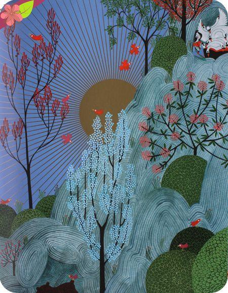 Les cygnes sauvages Texte de Kochka d'après Andersen Illustrations de Charlotte Gastaut Publié en 2014 par les éditions Flammarion - Père Castor