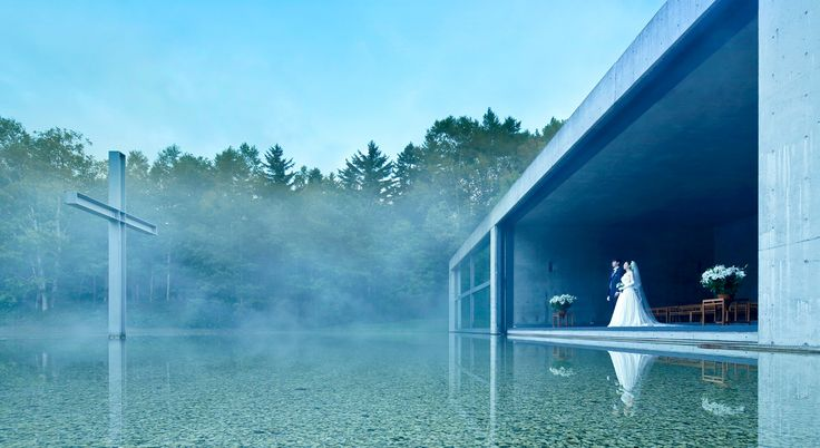 Chapel on the water 1988 / Tadao Ando