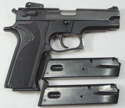 Smith & Wesson 5904 - First gun.