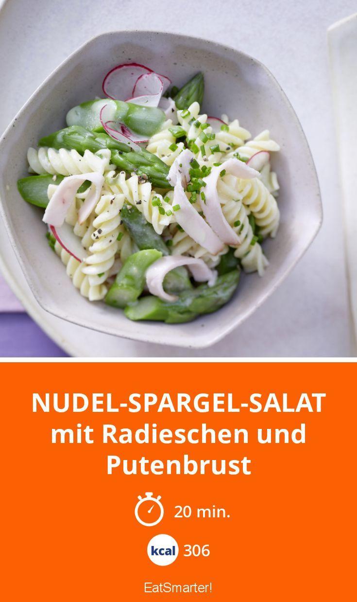 Nudeln und Spargel – leckere Kombi für den Frühling!