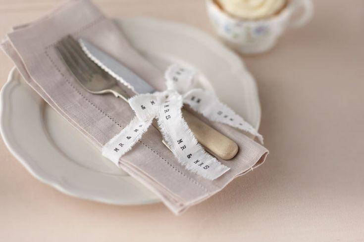 : Mr & Mrs Ribbon - Vintage Affair #HatchandBlossom