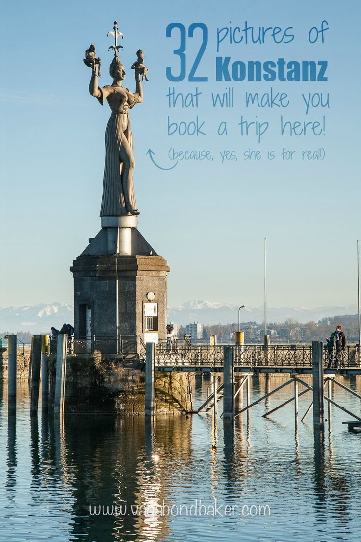 Konstanz, Germany // 32 Pictures that will make you book a trip here immediately!