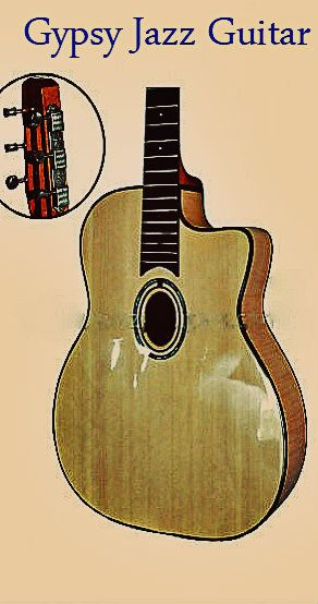 Would you like to be taken away by the exotic sounds of a gypsy guitar?  At Winzz guitars we are stocked up with gypsy guitars that include a bridge and binding made out of rosewood. Our gypsy guitars are also made with mahogany neck material and also have D or O shaped sound holes! Packaging Details:6pcs per carton normal exporting package Delivery Detail:45 - 60 days Our gorgeous gypsy guitars will provide alluring sounds that will send customers into a delightful trance.