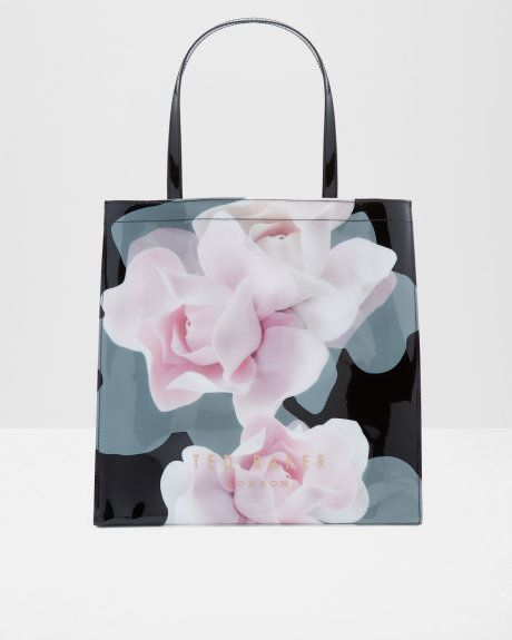 Grand sac cabas Porcelain Rose - Noir | sacs | Ted Baker FR