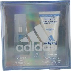 Adidas Moves 2 Piece Gift Set for Women