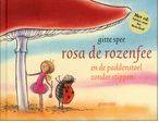 Boek - Pieter Pad is verdrietig want de paddenstoel heeft opeens geen stippen meer. Rosa, de rozenfee, en haar vriendje Tim weten raad. Oblong prentenboek met paginagrote krijtillustraties in zachte kleuren en tekst op rijm. Vanaf ca. 4 jaar.