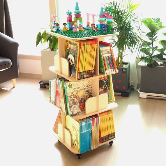 Hey, I found this really awesome Etsy listing at https://www.etsy.com/listing/496239385/movable-rotating-bookcase-diy-cnc