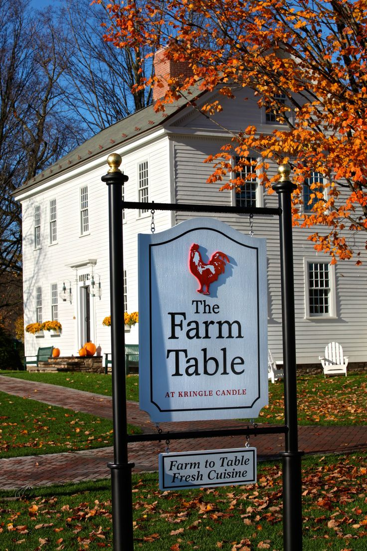the farm table at kringlecandle bernardston ma