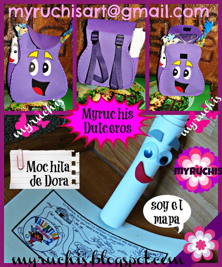 dulceros, Fiesta Dora,Fiesta Infantil, sweetmyruchis.blogspot.com