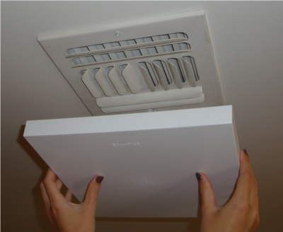 Are you looking for an efficient way of saving money from your electric bills? Just install A/C DraftShield's vent covers to seal all your air-conditioning system registers at home. With this smart move, you can stop cold air from entering your room. You can also save your vents from mildew and molds! #ventcover #home