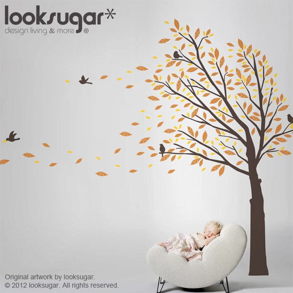 Best Wall Tree Deco Inspiration Images On Pinterest Tree - How to put up a tree wall decal