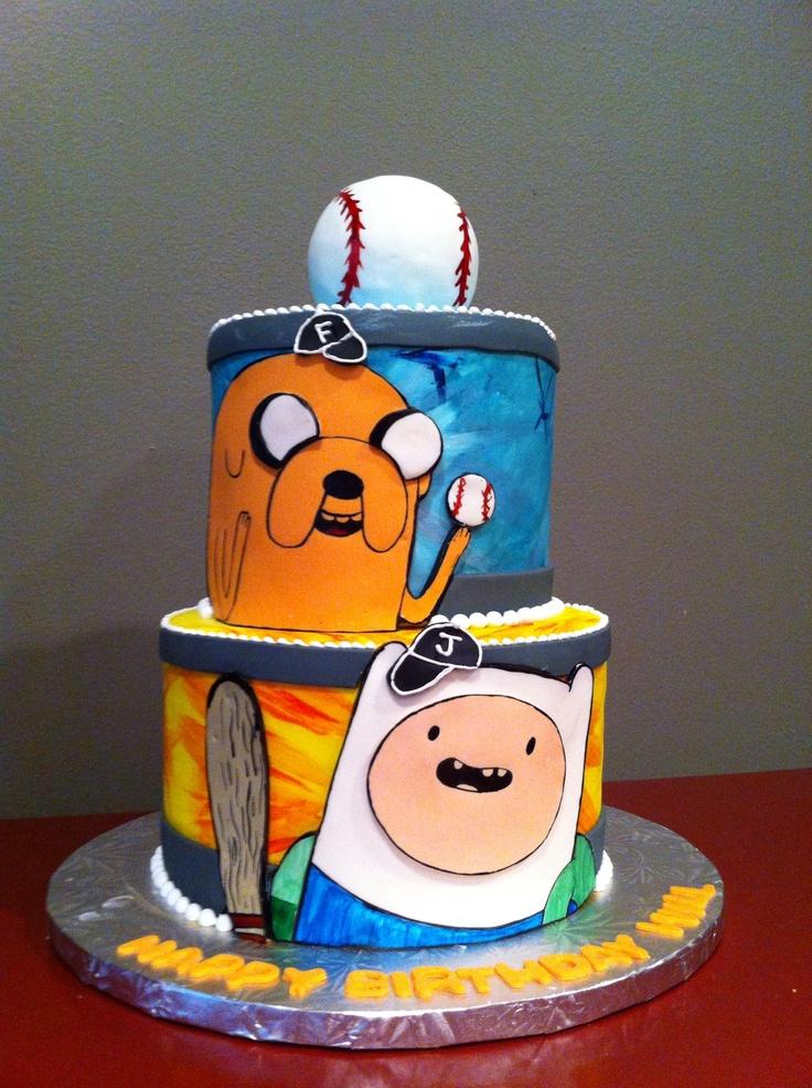 Картинка на торт фин и джейк