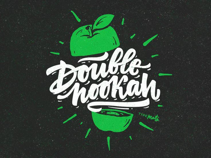 Double hookah by Typemate