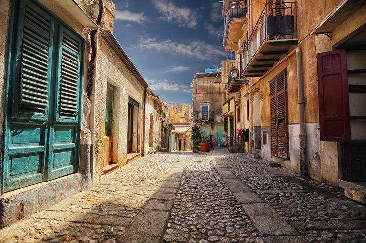 """Photo """"Old courtyard"""" by Francesco Alamia // The streets you travel can themselves be photo-worthy art."""