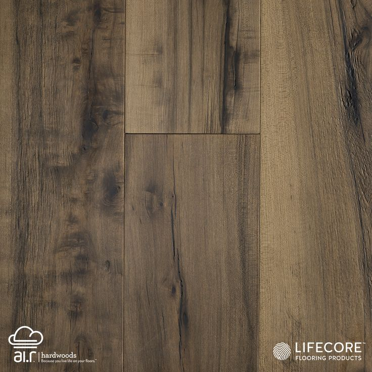 "In Italian, the word Allegra means ""joyful."" This visually pleasing collection of wide-plank engineered prefinished maples more than lives up to its name. The deep wire brushing and fumed finish is done by hand, allowing each plank to add its own unique statement to the floor's collective beauty. Maple scores the second highest of any non-exotic species on the Janka Hardness scale, earning 1450 (as opposed to American Cherry, which scores 950.).  Allegra Maple: Clarity Distressed"