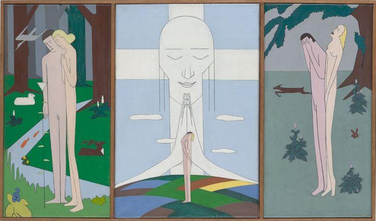 Hendrik Valk, Triptych, 1925