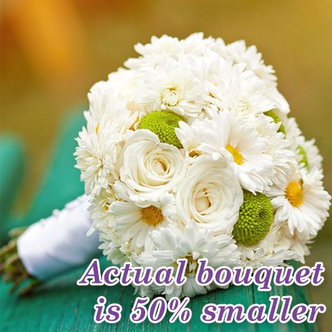 Daisy Day Toss Bouquet - Daisy Day Toss Bouquet > View Full-Size Image O...   Bouquet, Day, Daisy, Purchased, Reviews   Bunches