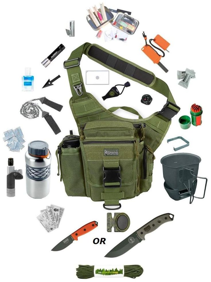 Survival Kit in three sizes.  The Survival Kit range from The Survival Store are an absolute winner. You get premium quality kit that all packs down into the fantastic range of Maxpedition Versipacks or 5.11 Push Packs.