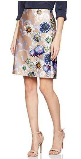 Falda Floral Print #Amazonmoda #Modamujer #Moda2017/2018 #Falda #Outfit #fashion #Shopping #Print