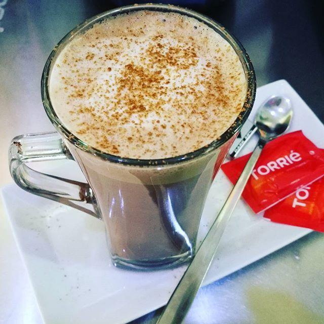 Dia perfeito para um chocolate quente #chocolatequente #chocolate #hotdrink #myiced #caldasdarainha