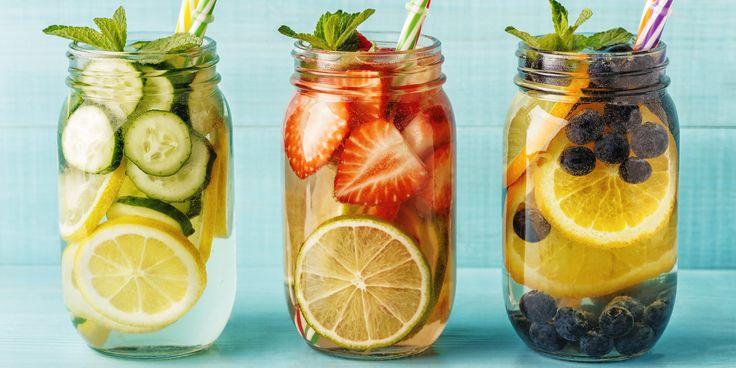 Detox water: 6 recettes rafraîchissantes à faire chez soi