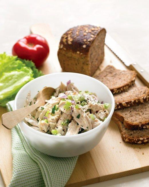 Lighter Chicken Salad Recipe: Chicken Recipe, Lighter Chicken, Chicken Salads, Asian Chicken, Chicken Salad Recipe, Martha Stewart, Chickensalad, Lunches Recipe, Chicken Salad Sandwiches