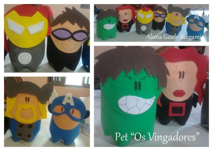 Pet  Os Vingadores