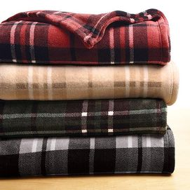 Whole Home®/MD Plush Plaid Blanket - Sears | Sears Canada