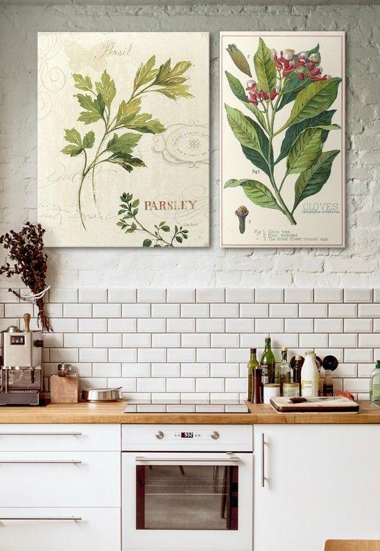 So many recipes, so little time. #kitchenart #decor #canvas