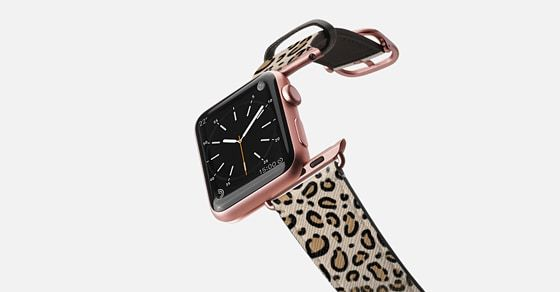 fashion accessory for iphone watches leopard print pattern animal print modern Apple Watch Band (42mm) by Charlotte Winter | Casetify