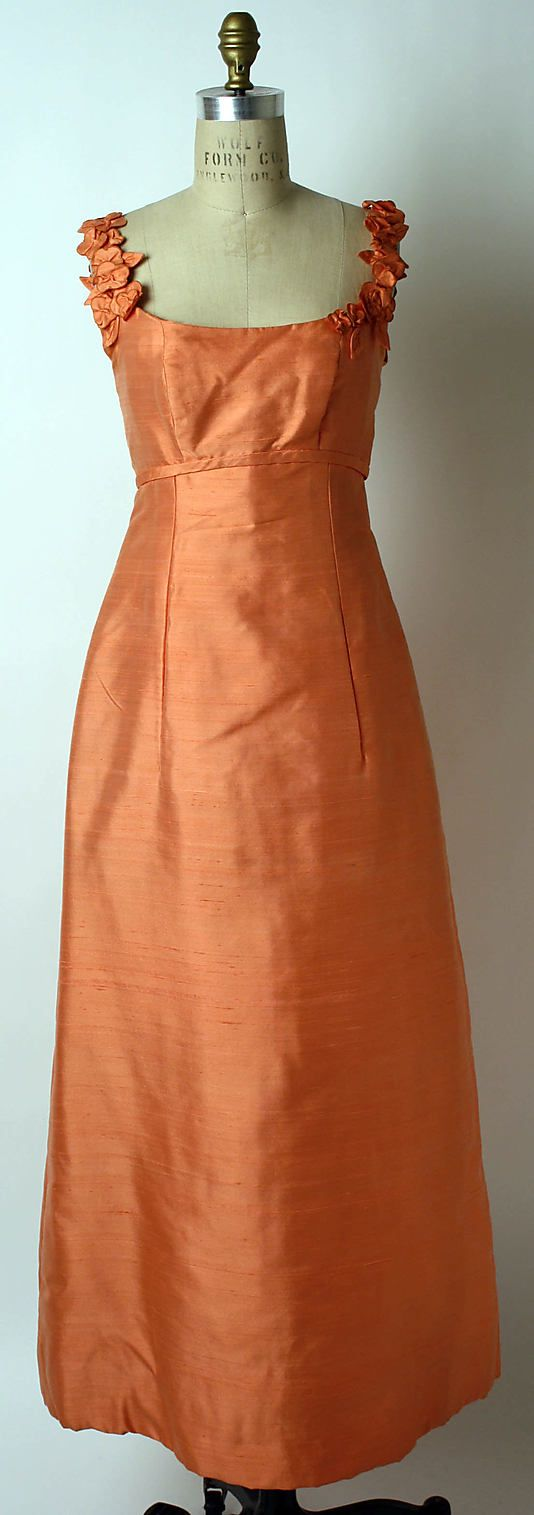 Evening dress  Anne Lowe  (American, Clayton, AL 1898–1981 Queens, NY)  Department Store: Saks Fifth Avenue (American, founded 1924) Date: 1962–64