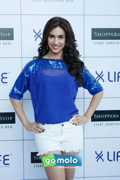 Lauren Gottlieb at the Launch of Life brand's new fashion collection at Shoppers Stop in Mumbai