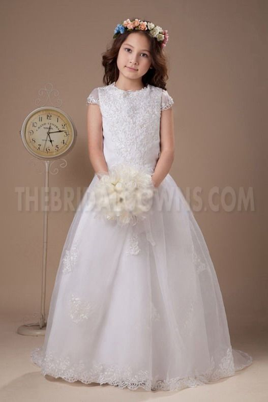 Strapless Organza White Flower Girl Dresses - Order Link: http://www.thebridalgowns.com/strapless-organza-white-flower-girl-dresses-tbg4072 - SILHOUETTE: A-Line; SLEEVE: Short Sleeves; LENGTH: Floor Length; FABRIC: Organza; EMBELLISHMENTS: Beading - Price: 79USD
