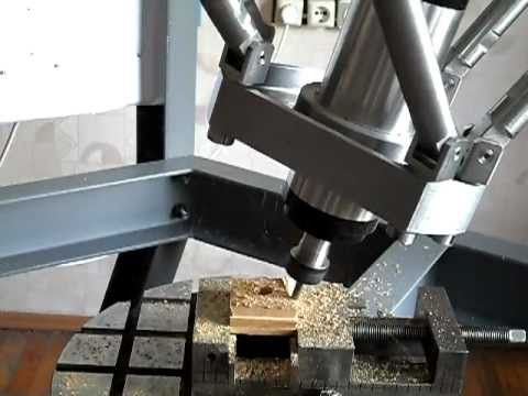 CNC hexapod parallel robot 5 axis milling