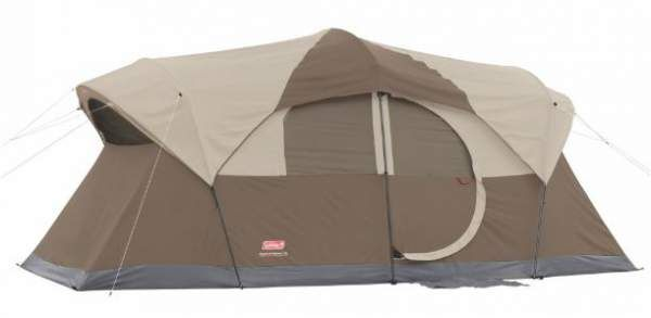 Coleman WeatherMaster 10 person tent.   Family Camping tents