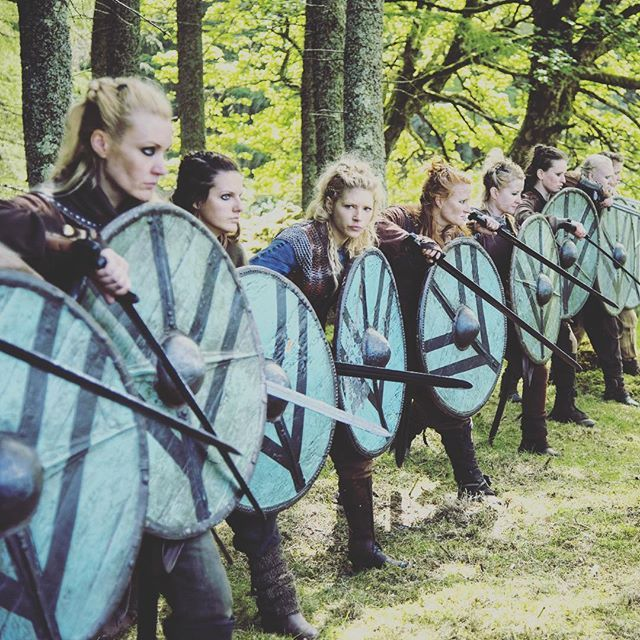 Hell hath no fury like a shield maiden scorned. #Vikings