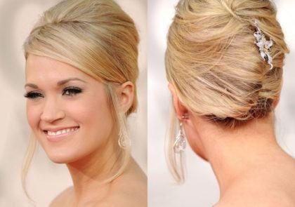 penteados com cabelos presos para noivas