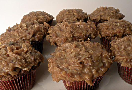 Duitse Chocolade Cupcakes maken