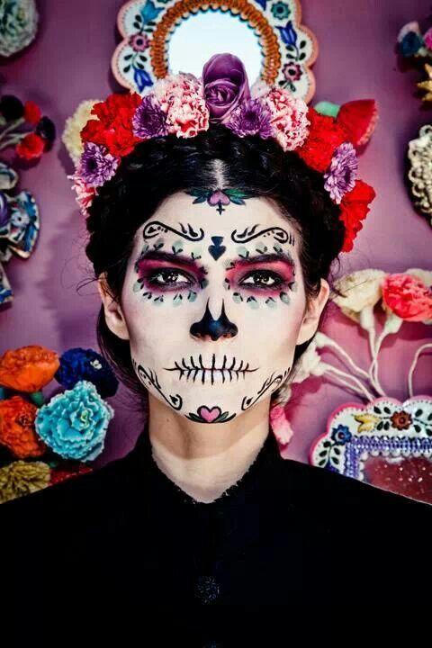 La vida a veces se gana otras se pierde (Maquillaje Halloween Diabla)