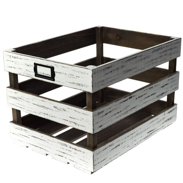 maybe something like this for under my record player?? so cute    shop.crackerbarrel.com: Wooden Vinyl Record Storage Crate - Cracker Barrel Old Country Store