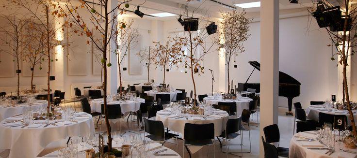 Firmafest, middag, business middag, forretningsmiddag, Peter Ingeberg, julefest, sommerfest, nytårskur, | Mogens Dahl Koncertsal A/S