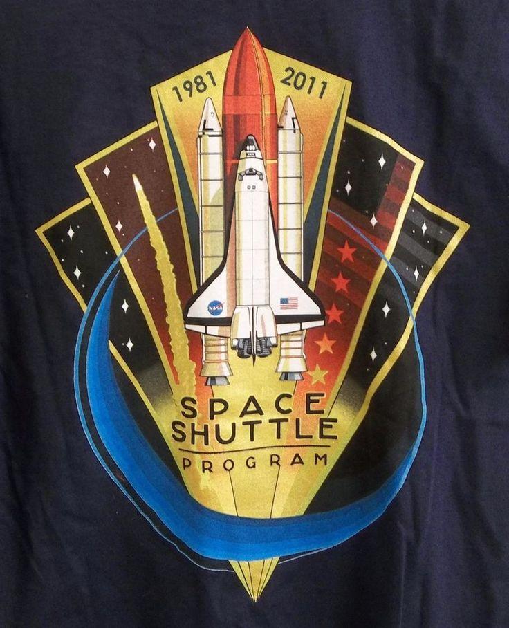 NASA Space Shuttle Program T-Shirt Adult M Medium 1981-2011 New w/o Tags