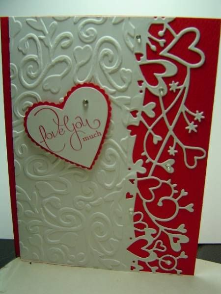 Hubby's Valentine 2012 by crazysuziestamper - Cards and Paper Crafts at Splitcoaststampers