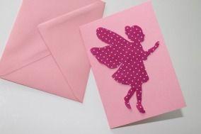 Einladungskarte Elfe Fee Party Kindergeburtstag