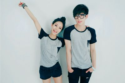 Korean casual couple's outfit | Asian fashion couples ...