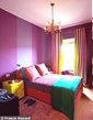 leuke kleurrijke kamer