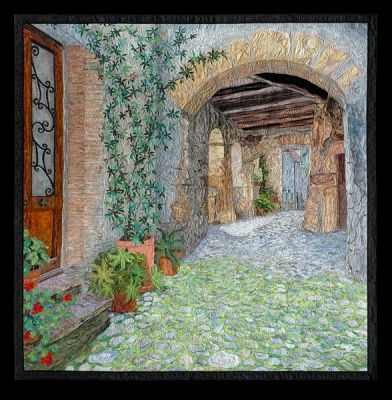 Through Tuscany - Picture Piecing Quilt by Cynthia England
