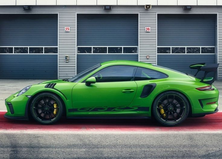 2019 Porsche 911 GT3 RS with a 4.0L flat-six engine that cranks out 520-hp and 346 lb-ft of torque #vehicles #car #land #vehicle #motor