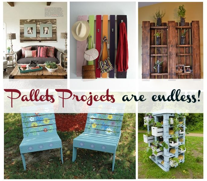 Pallets Projects are endless!